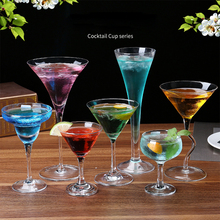 Hot Sale Crystal Martini Cocktail Cup Margaret Glass High-grade Champagne Drinkware Bar Party Wine Free Shipping