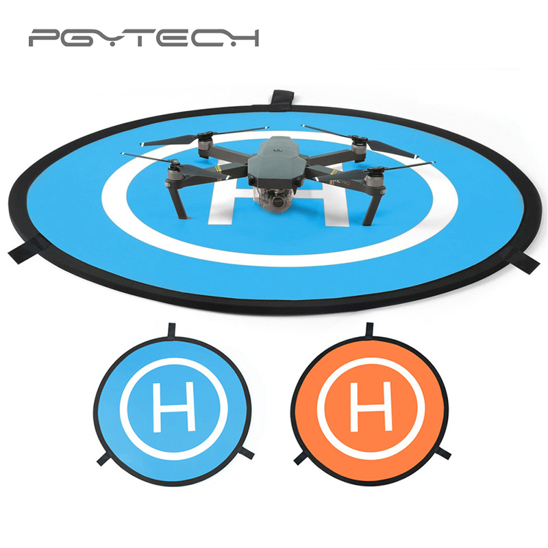 PGYTECH 55/75cm Landing Pad Parking Apron Tarmac Mini Portable Fast-fold for Mavic 2 Pro/Zoom Air Spark Phantom 4 Pro Mi Drone easttowest portable fast fold 75cm drone landing pad for dji mavic pro spark mavic air phantom 2 3 4 drone quadcopter