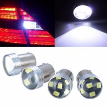 4pcs 1156 2835 6LED 6SMD Canbus Error Backup Reverse Turn Signal Light Bulb White Brake Lamp