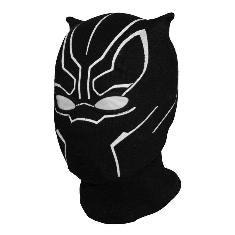 Superhero Schwarz Panther Balaclava Full Face Maske Halloween Kostüm X-männer Hüte Kappe Party Kapitän Amerika Bürgerkrieg Winddicht