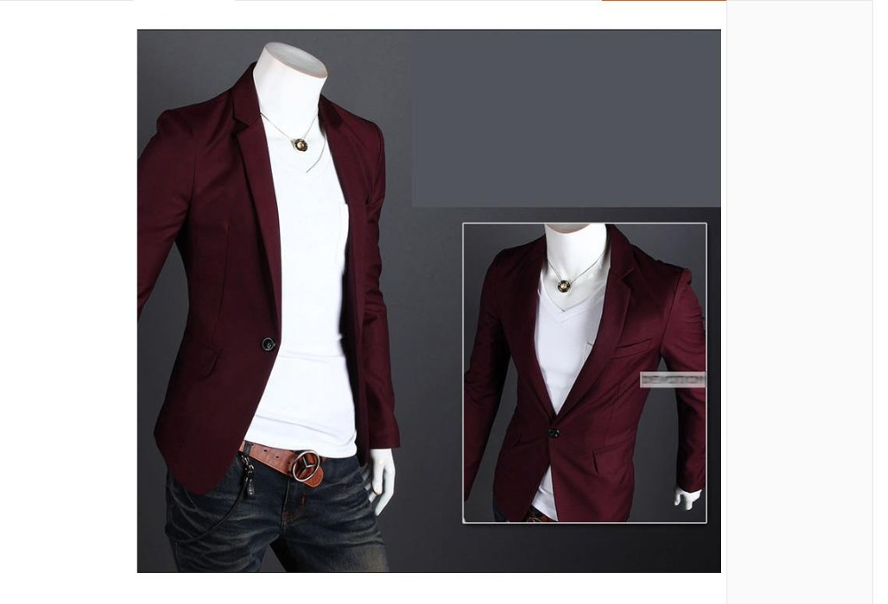 2018New Arrival Brand Casual Blazer Men Fashion Slim Fit Jacket Suits Masculine Blazer Coat Button Suit Men Formal Suit Jacktl