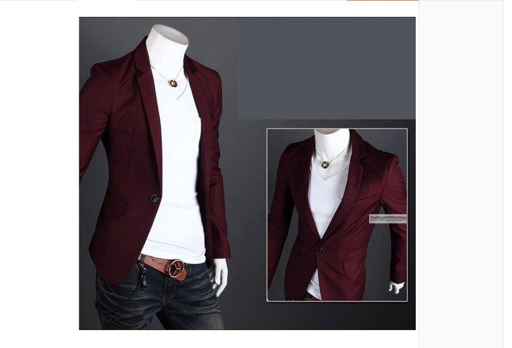 2018New Arrival Brand Casual Blazer Men Fashion Slim Fit Jacket Suits Masculine Blazer Coat Button Suit Men Formal Suit Jacktl