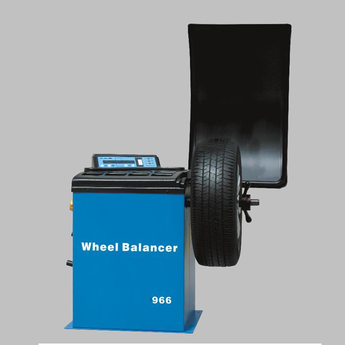 Good Sale Wheel balancer For car Rim diameter 12 & <font><b>quot</b></font> ~ <font><b>24</b></font> & <font><b>quot</b></font> Modle 966 image