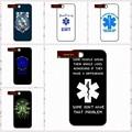 Resgate médico emt ems capa case para iphone 4 4s 5 5s 5c 6 6 s plus samsung galaxy s3 s4 mini s5 s6 note 2 3 4 de0073