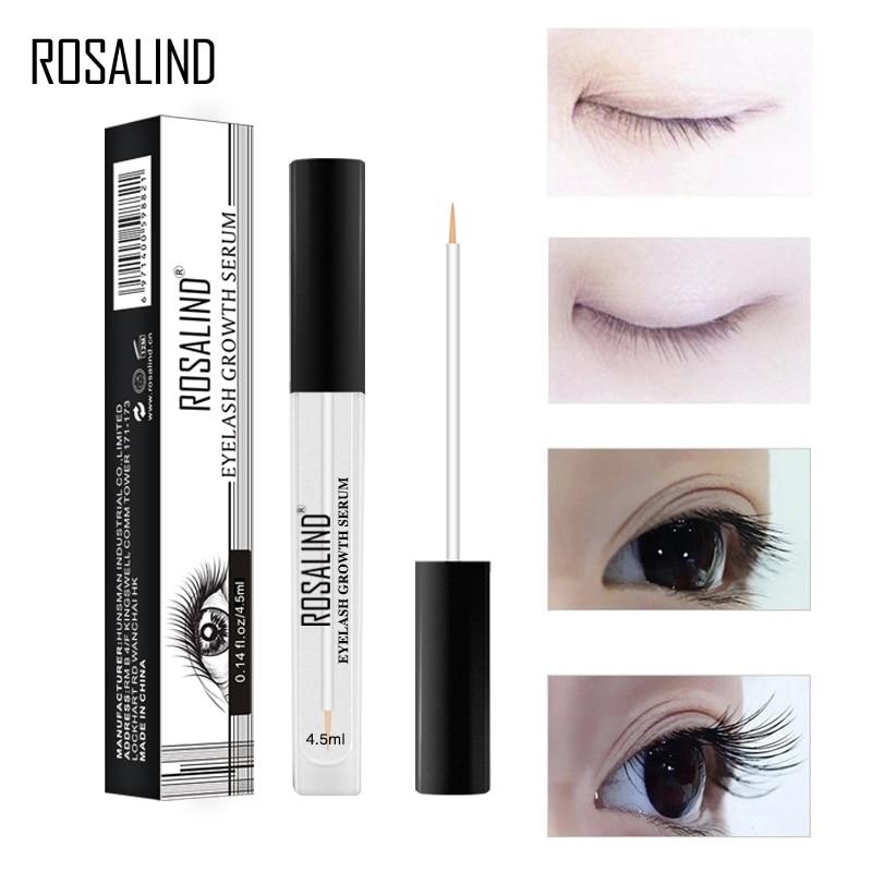 ROSALIND 4.5ml Lash Lift pielęgnacja oczu kuracje na porost rzęs dłuższe grubsze rzęsy pielęgnacja oczu odżywka do rzęs naturalny makijaż oczu