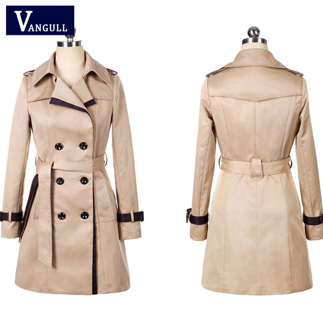 Women Thin Trench Coat  2