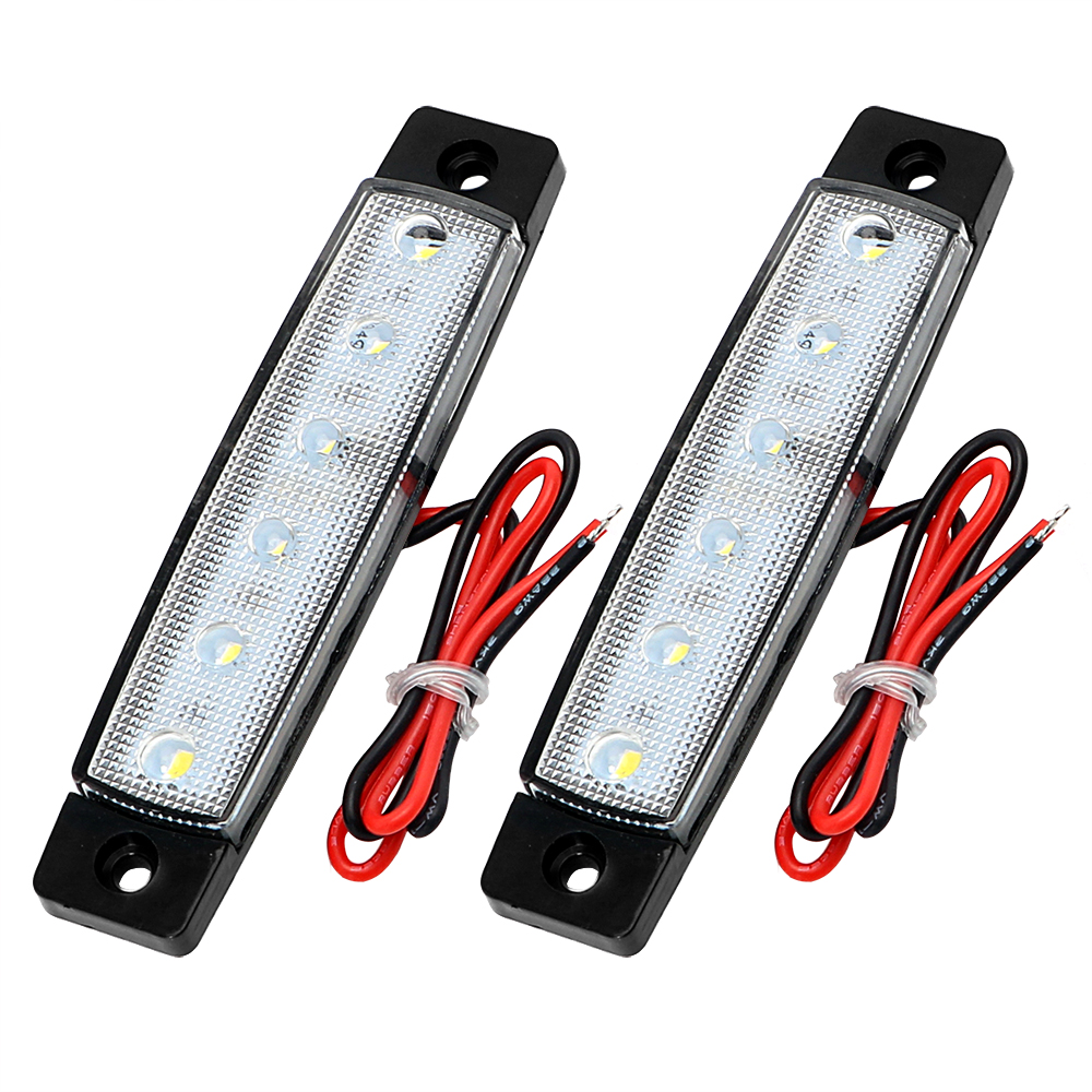 12V Auto Lights External Light Source 1 Pair Super Bright 12 SMD LED Brake Lamps Car Turn Signal Lights Truck Turn Indicators