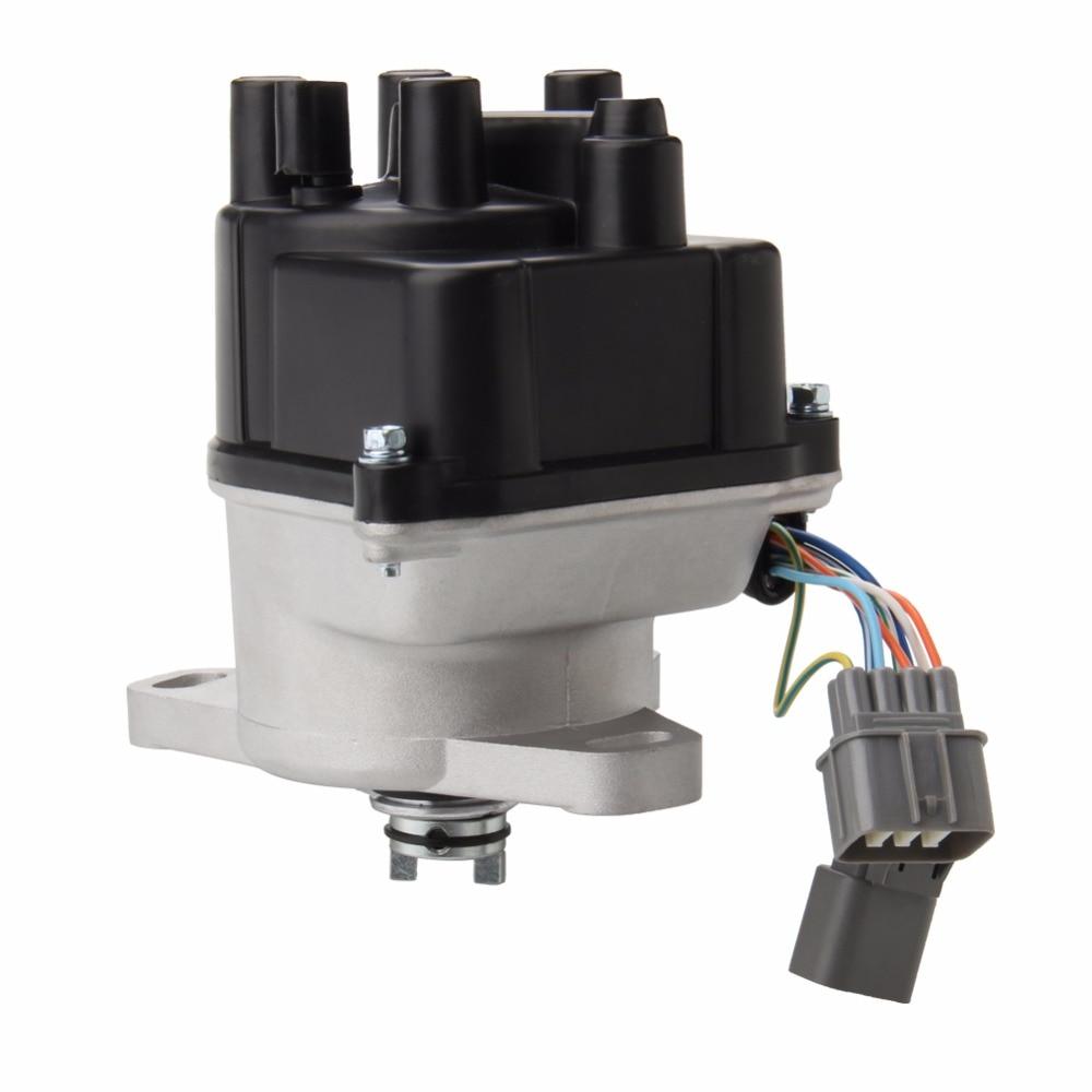 Ignition Distributor For 92 95 Honda Acura Integra B16A-OBD1 B16A2-V-TEC-TD44U pak