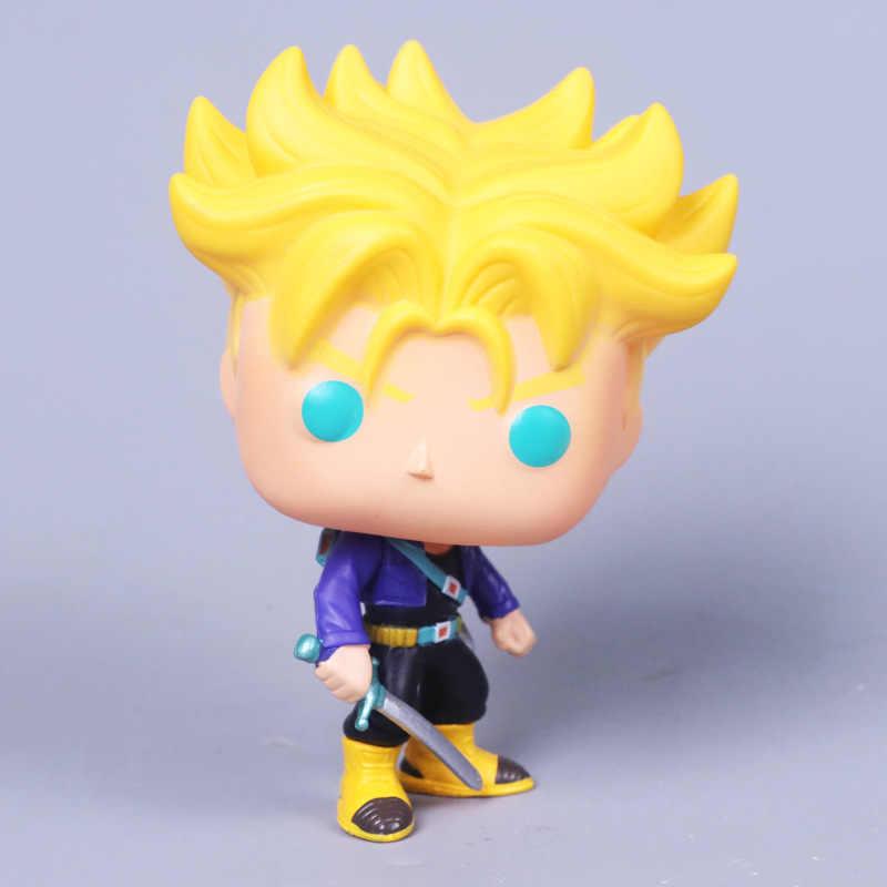 2018 Brinquedo Dragon Ball Son Goku Figura de Ação Anime Super Vegeta Boneca Modelo Coleção Pvc Brinquedos Para As Crianças Presentes de Natal