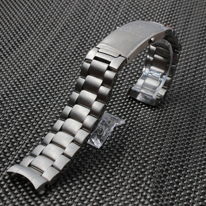 Solid Stainless steel Watchband metal watch strap bracelet Deployment watch buckle 20mm 22mm