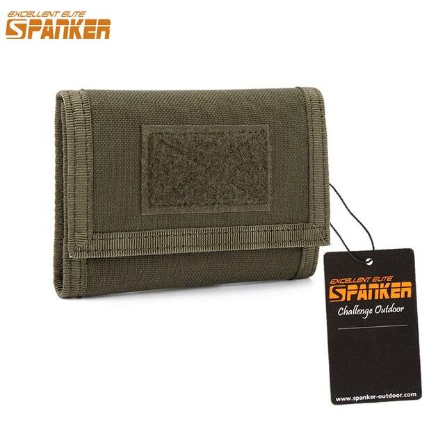 Отличный Элитный бизань кошелек сумка для карт Тактический водостойкий кошелек ID держатель сумка для денег Мужская сумка Открытый кошелек военный