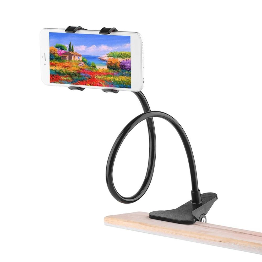 New 360 Rotating Flexible Long Arm cell phone holder stand lazy bed desktop tablet car selfie mount bracket for iphone 6|Universal Car Bracket|   - AliExpress