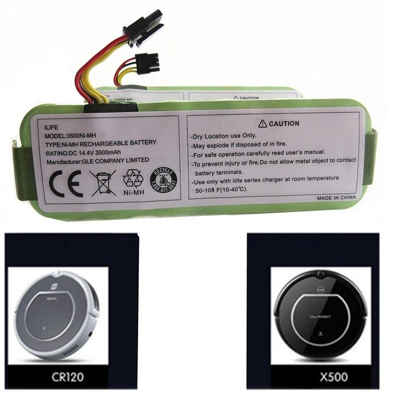 NI-MH Rechargeable Aspirateur Batterie pour Ecovacs 14.4 v 3500 mah CR120 Dibea Panda X500 X580 Kk8 Haier Robot de Balayage