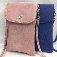 SYHBAN Handbag Zero Purse Slanted Mini Package Phone Bag For IPhone6 7 7P Slot Cover Pouch