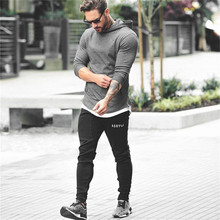 Mens Camouflage Hoodies fitness Bodybuilding jacket Sweatshirts