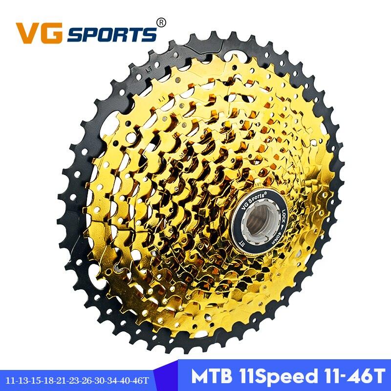 2019 VG sports 11 speed 11 46T MTB bicycle freewheel cassette 11S 46T mountain bike sprockets