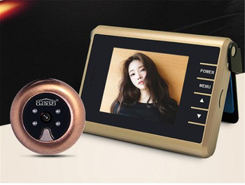 3 Inch No Disturb 1MP Video Door Phone Peephole Viewer