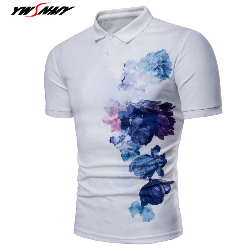 3D Chinese Ink Printed Men's Casual   Polo   Shirts Summer Short Sleeve Comfortable   Polo   For Male lapelShirt Men Shirt Camisa XXXL