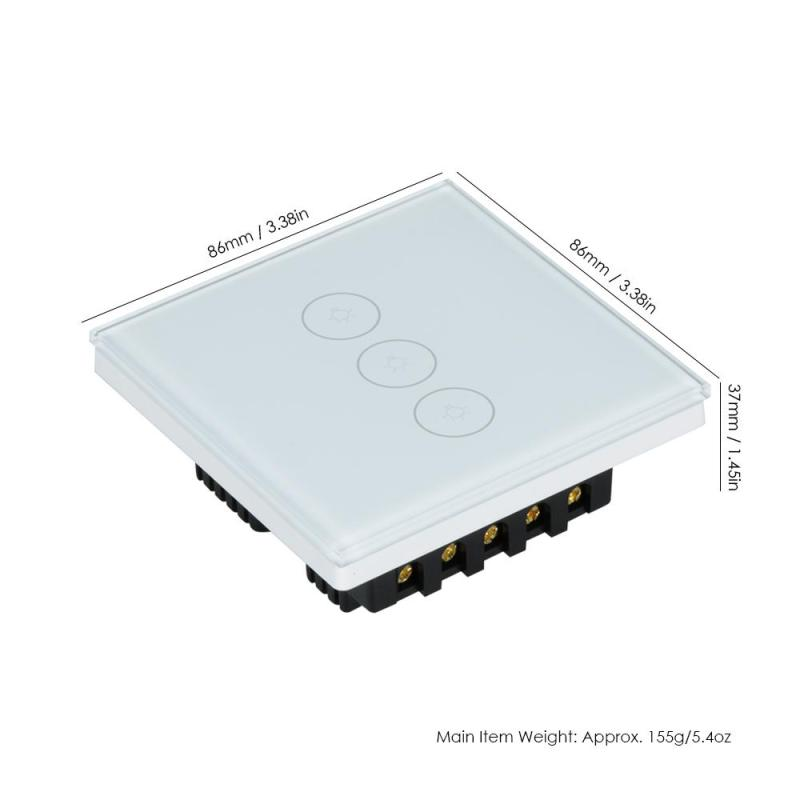 Smart Switch Wifi UK Plug Touch Panel Work with Amazon Google Alexa Home IFTTT APP Remote Control Wireless Light Wall Switch