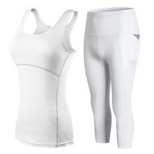 Sleeveless Sexy Sport Suit