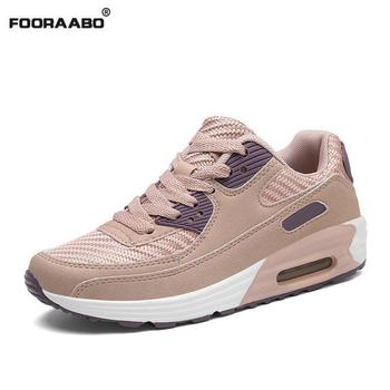 2019 Spring Fashion Korean Pink Platform Sneakers Women Shoes Breathable Suede Lace Up Black Ladies Casual Shoes Tenis Feminino Сникеры