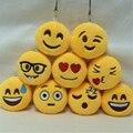 Moda Lindo Emoji Emoticon Cara Sonriente Llavero Colgante Llavero Titular Llavero Regalo para Mujeres Hombres