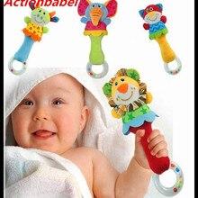 Actionbabei Новые Игрушки для маленьких мальчиков погремушка Милая кроватка колокольчики для животных Музыкальная развивающая игрушка в подарок