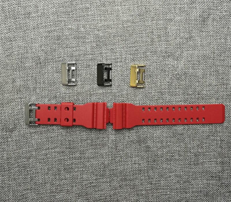 7eef7a4d31c0 16 MM accessori cinturino guarda accessori in acciaio inox fibbia accessori