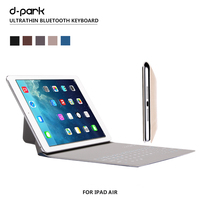 Ultra Thin Wireless Bluetooth Keyboard PU Leather Case Cover For IPad Air 2 IPad Air 9