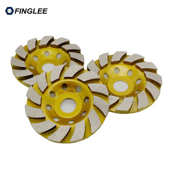 цена на 4inch/5inch Inner 22.23mm Diamond Wheel Disc Bowl Grinding Cup Concrete Granite Marble Stone Polishing Pads Masonry Tools