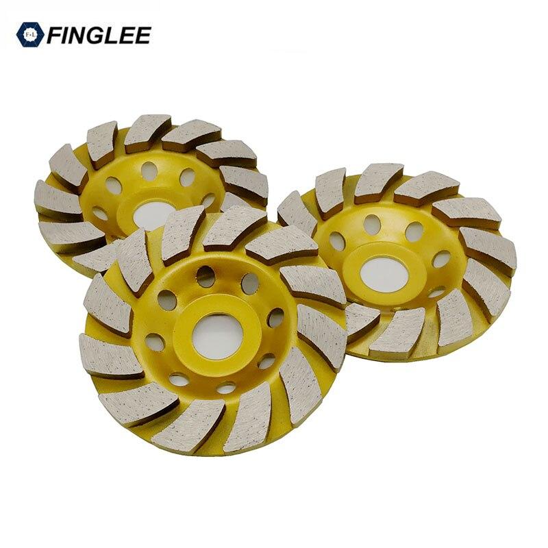 4inch/5inch Inner 22.23mm Diamond Wheel Disc Bowl Grinding Cup Concrete Granite Marble Stone Polishing Pads Masonry Tools