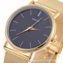 Fashion Women Watch Gold Sliver Alloy Band Casual Clock Round Dial Luxury Simple Classic Ladies Wrist Relogio Feminino