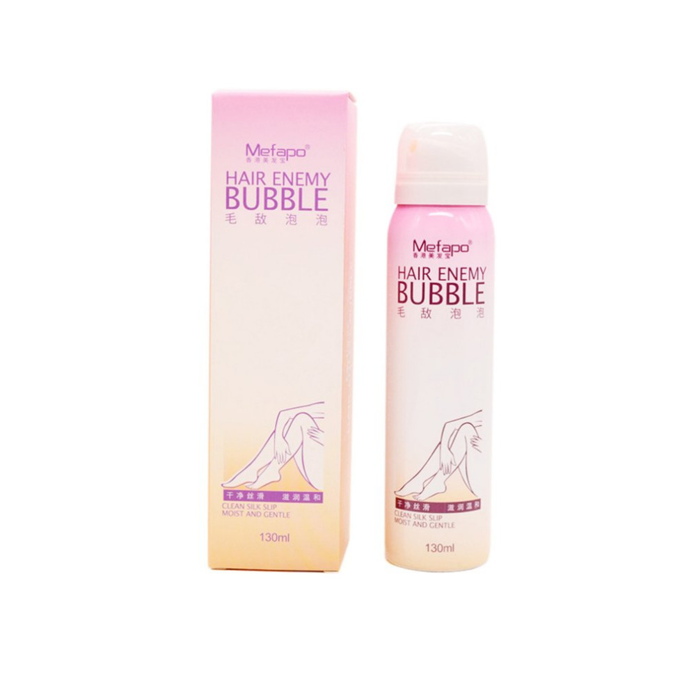 все цены на MEFAPO Painless Hair Removal Cream Depilatory Bubble Wax Boby Bikini Legs Hair Remover Foam Mousse in Spray Bottle Pomades Waxes онлайн