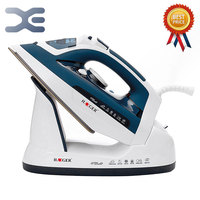2 Colors 2400W Handheld Portable Electric Steam Iron For Clothes High Quality Ceramic Soleplate HG 1208