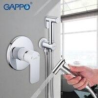 GAPPO Bidet Faucet White toilet shower bidet sprayer muslim shower toilet bathroom mixer toilet Shower Head Bidet