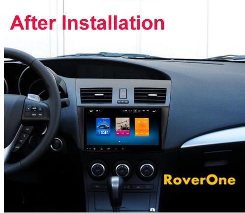 Roverone Android 8 0 Octa Core Car Radio Gps For Mazda 3 Mazda3 2010 2017 Touchscreen