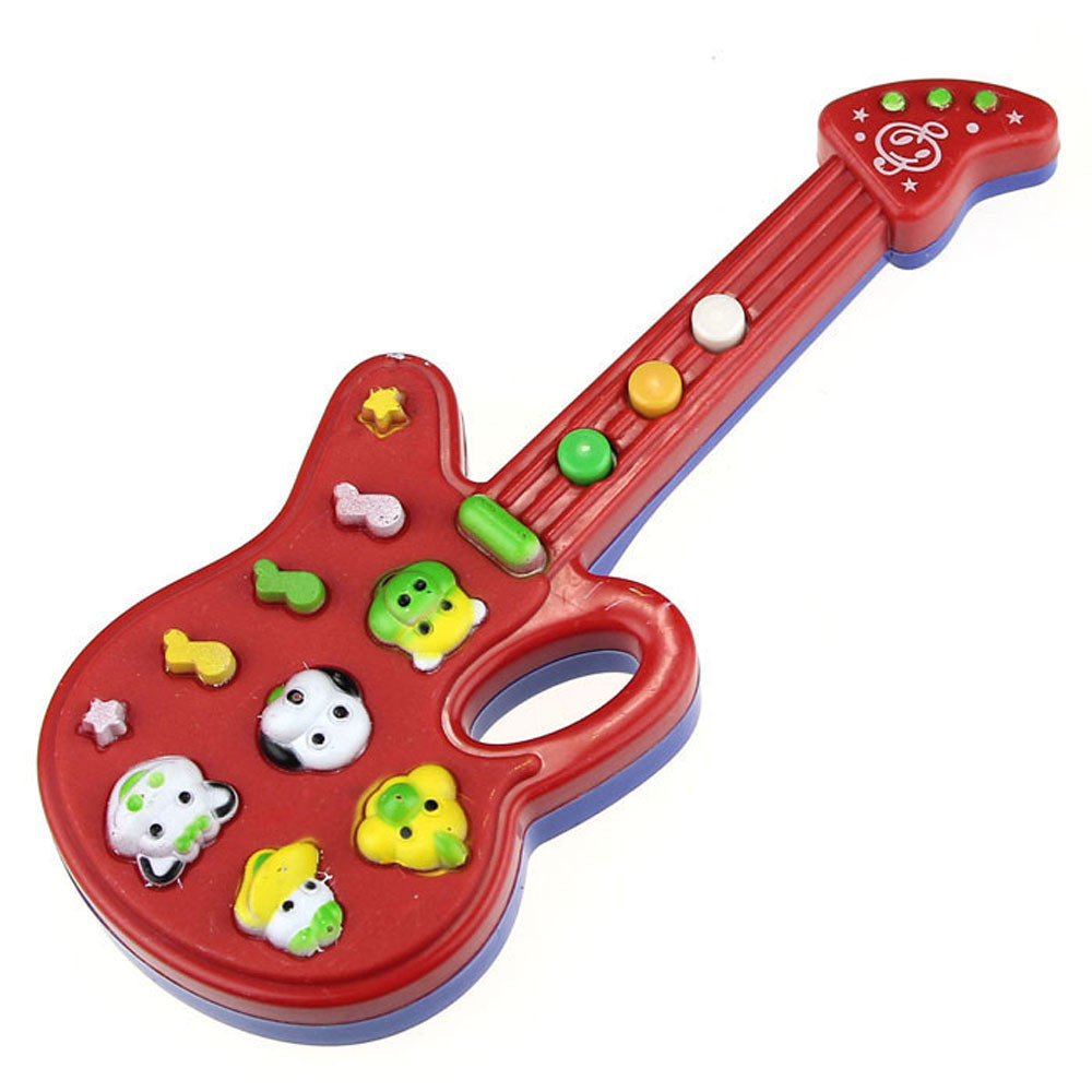 HOT Electronic Guitar Toy Nursery Rhyme Music Children Baby Kids Gift SEP 02