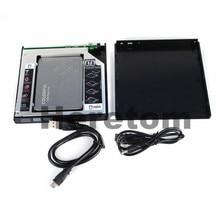 Heretom USB2.0 12,7 мм SATA RW компакт-дисков DVD-ROM Внешний оптический привод чехол
