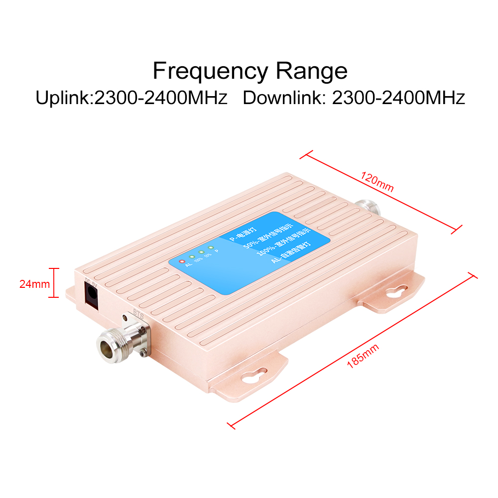 OSERJEP 70dB 4G LTE Repeater LTE GSM 2300 Band B40 Phone Signal Booster Cellphone Cellular Amplifier LTE 2300Mhz Mobile Repeater-in Signal Boosters from Cellphones & Telecommunications    2