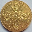 24-K gold-plated Rus...