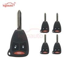 Kigoauto 5 шт Чехол для автомобильного ключа 2 кнопки с паникой