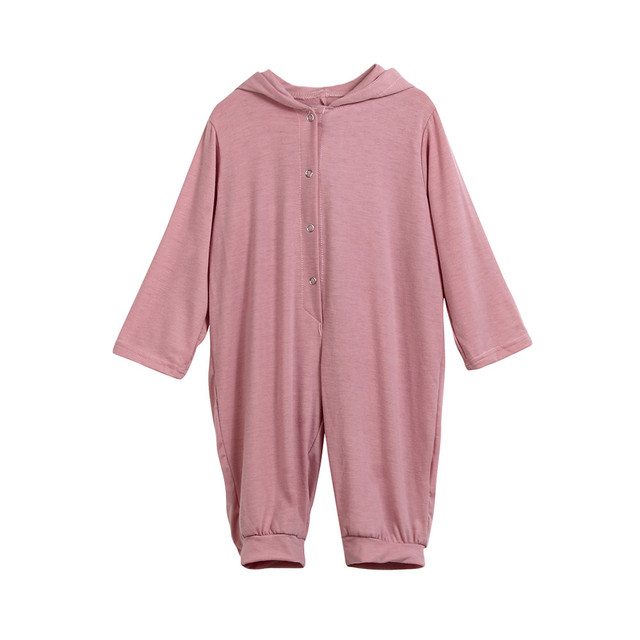 3D Dinosaur Costume Solid pink gray Rompers warm spring autumn cotton 2018 spring rompers Newborn Cotton tracksuit