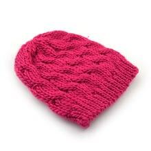 Chapéu de gorro de inverno de estilo coreano das senhoras cabo de malha chapéus das mulheres barato gorros gorros gorros gorros boné toque rosa quente marrom preto roxo