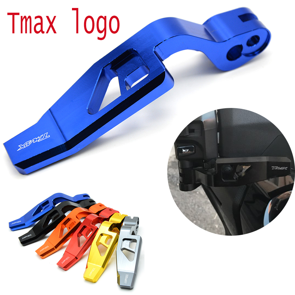 High Quality Motorcycle CNC Aluminum Handbrake Parking Brake Lever for Yamaha TMAX T-MAX 500 2008-2011 T-MAX 530 2012-2014 XP530 motorcycle brake clutch lever black color cnc adjuster folding lever for yamaha tmax530 tmax 530 t max530 t max 530 2008 2014