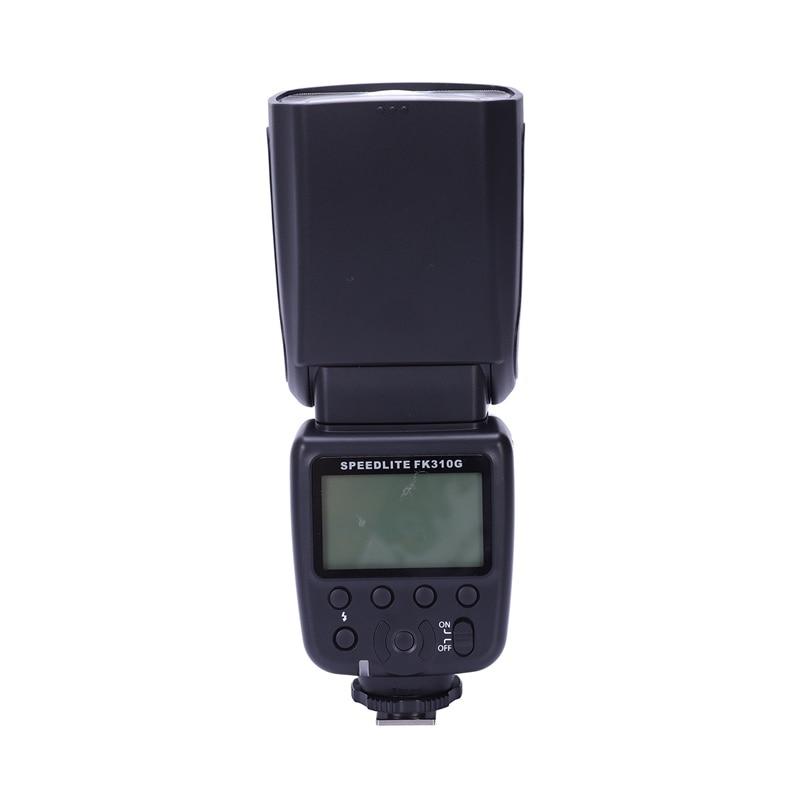 Fk310G Flash pour appareil photo numérique Canon Eos, appareil photo tablier Eos, appareil photo numérique Nikon avec clignotant sans fil