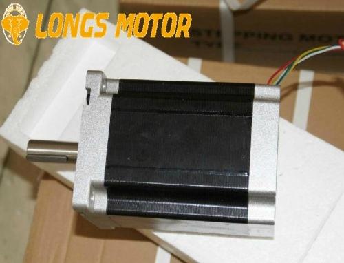 Stepper Motor Nema42 1770oz-in=12.5N.m 42HS9460 5.5A single shaft  CNC Laser Mill LONGS MOTORStepper Motor Nema42 1770oz-in=12.5N.m 42HS9460 5.5A single shaft  CNC Laser Mill LONGS MOTOR