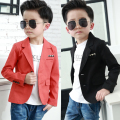 new Clothing male child casual suit jacket small formal dress top suit 2016 autumn kids coat baby clothing