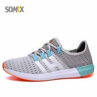 Somix Super Light Men Barefoot Running Shoes Mesh Breathable Men And Women Sneakers Outdoor Sport Shoes