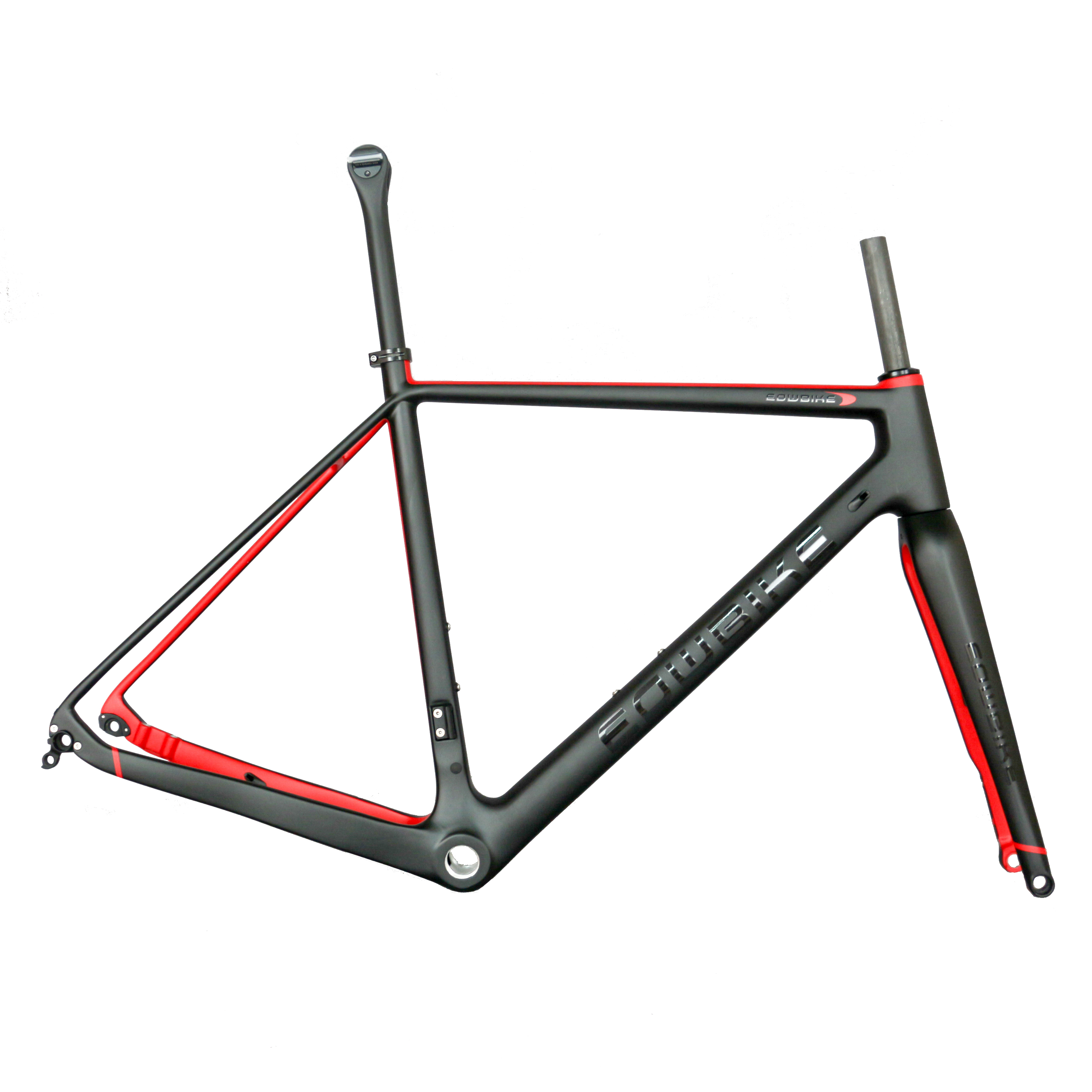 Seraph Carbon Fiber GR029 Gravel Bike Frame 700C Gravel Bike Axle 142*12mm Carbon Bike Frame Available Cuatom