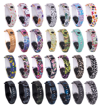 Strap For Xiaomi Mi Band 3 Smart Accessories band 2 Wristband Spot goods Of 4